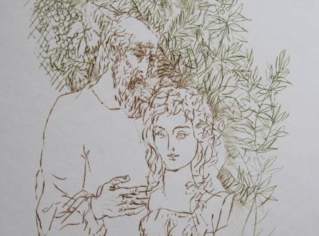 Mester és tanítvány - Vaszary János, Hincz Gyula és Reich Károly grafikai kiállítás
