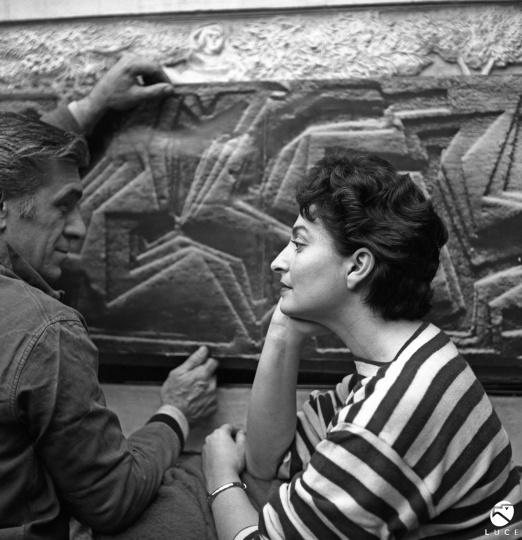Amerigo Tot (1909-1984) és Fischer Eva (1920-)