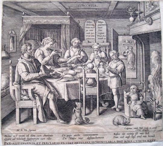 A metszetek aranykora a 16. és 17. században