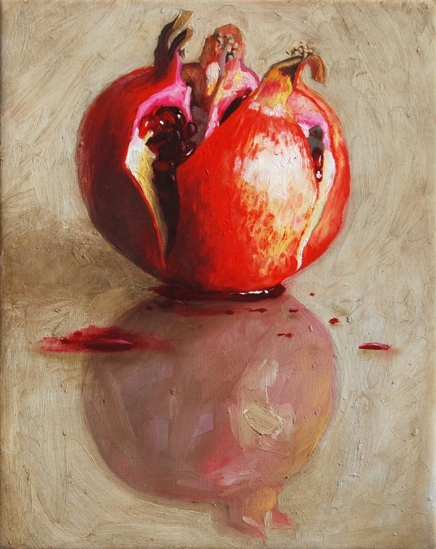 Szenteleki, Gábor: In consideration with Goya - This is only a pomegranate