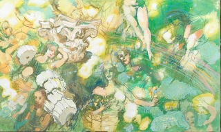 Szkok, Iván: Muses, sketch