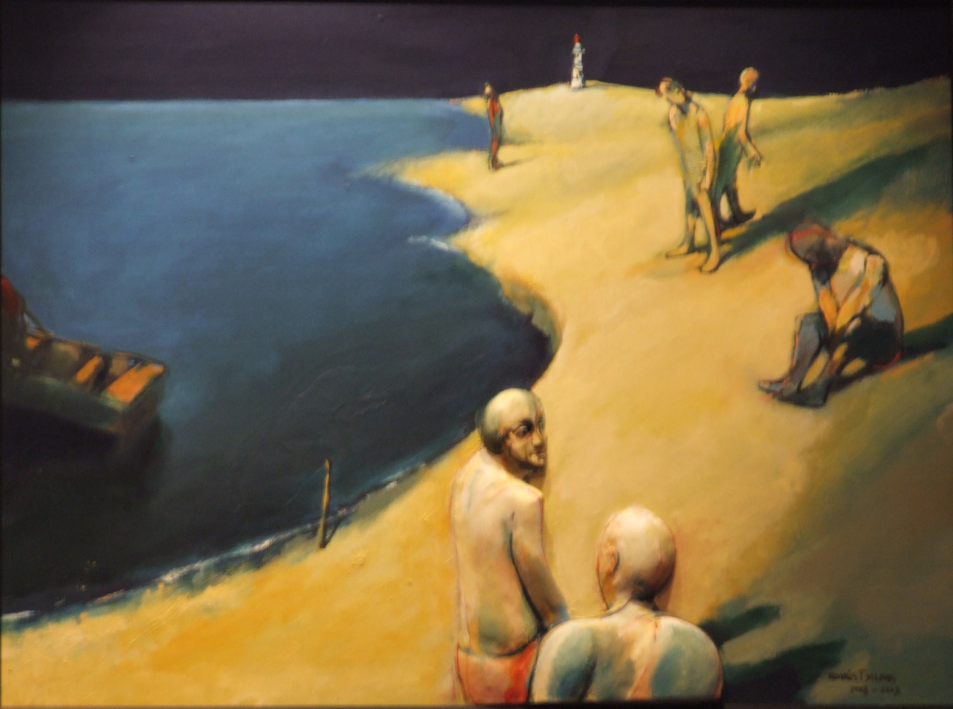 Kovács, Tamás Vilmos: Memories from the seashore