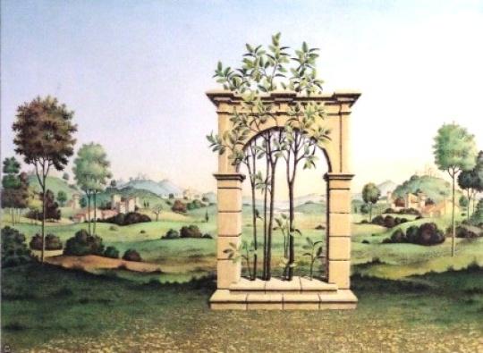 Artner, Margit: Das Tor zum Paradies- farbig