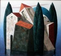 Brandes, Matthias: Landscape with lake