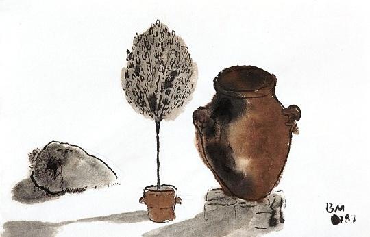 Borsos Miklós: Tihanyi kert
