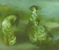 Csáki, Róbert: Winter on the Island of Cythere - Hommage a Watteau