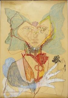 Almásy, Aladár: Whitehanded rosebreaking girl