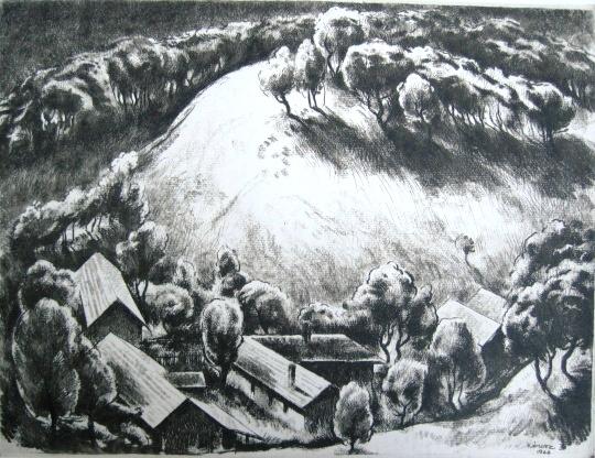 Kórusz, József: Hügel