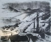 Kórusz, József: Early spring in Zebegény
