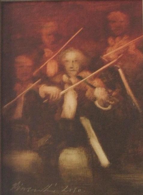 Vinczellér Imre: Hegedűsök