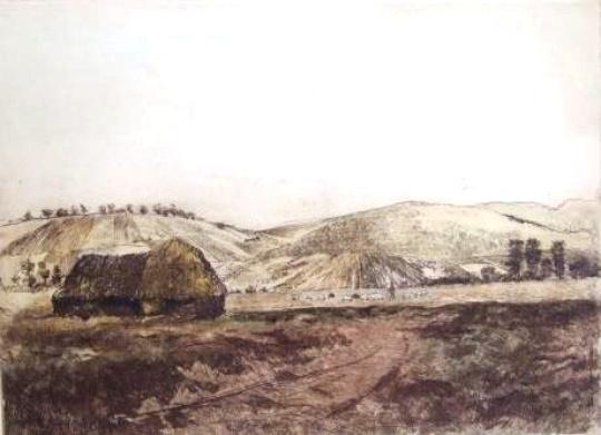 Csergezán, Pál: Landschaft