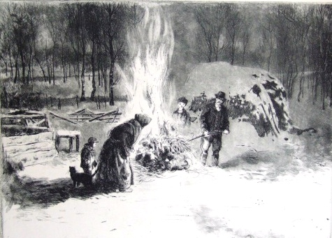 Csergezán, Pál: Pig Slaughtering