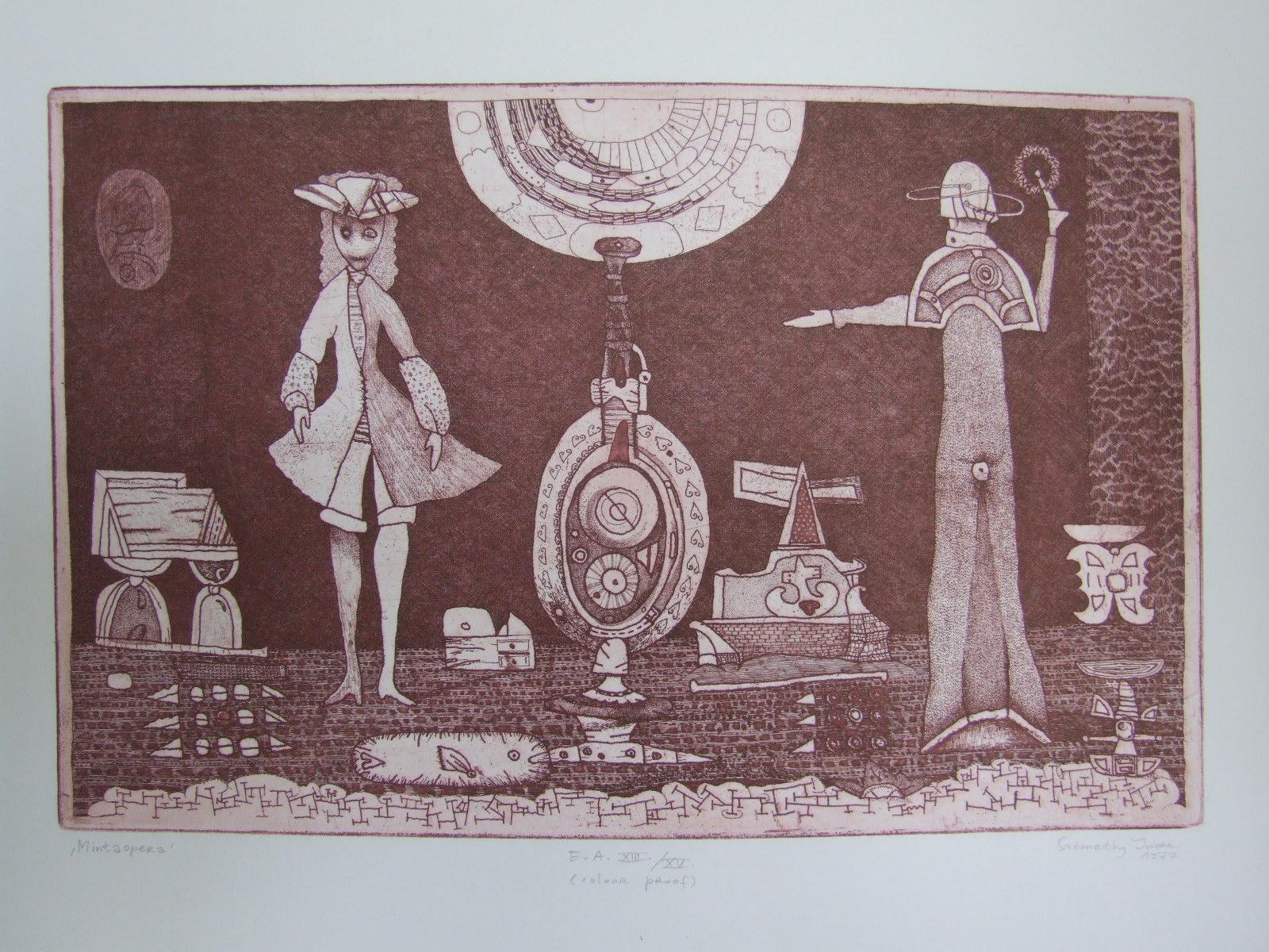 Szemethy, Imre: Model opera