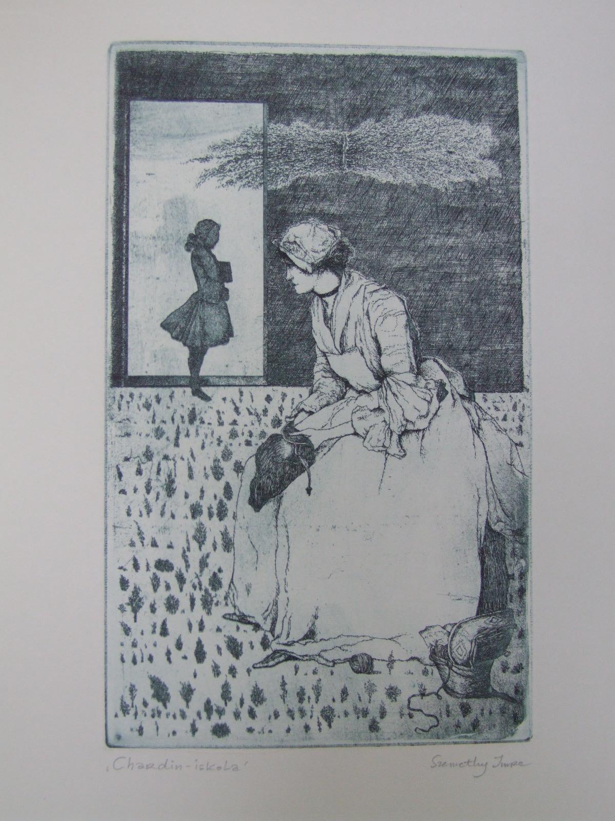 Szemethy,  Imre: Chardin-Schule