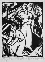 Bortnyik, Sándor: Three women