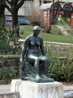 Ferenczy, Béni: Sitting woman
