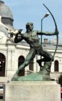 Kisfaludi Strobl, Zsigmond: Pfeilschütze