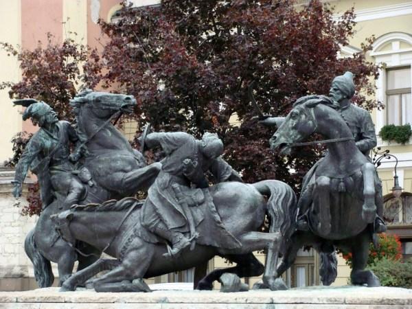 Kisfaludi Strobl, Zsigmond: Batttle of the Végvár - Fighting the Turks