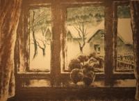 Kórusz, József: Fenster im Winter