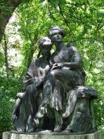 Stróbl, Alajos: Reading girls