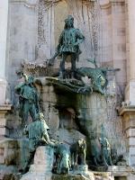 Stróbl, Alajos: King Matthias' fount