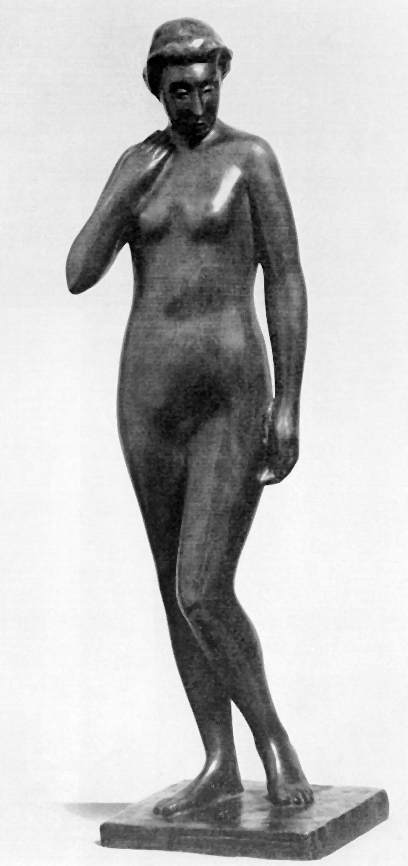 Vedres, Mark: Standing female nude