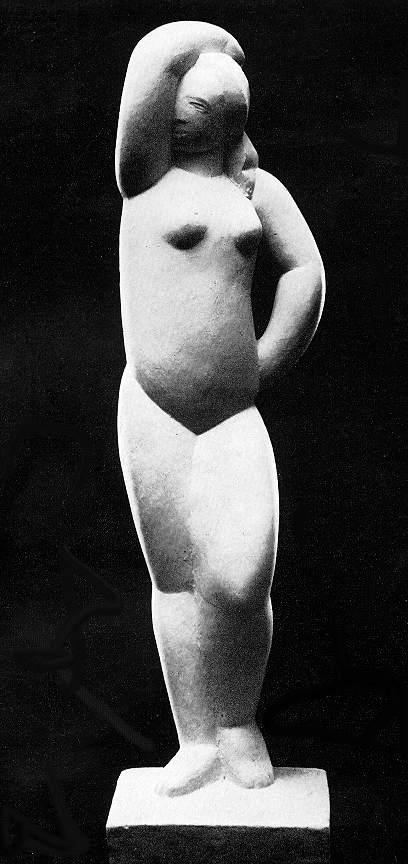 Vedres Márk: Kezét csípőre tevő nő