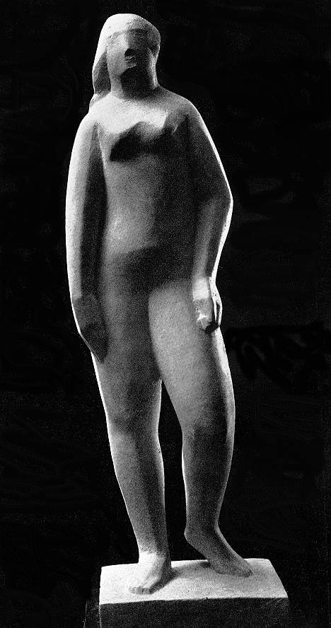 Vedres, Mark: Stepping female nude