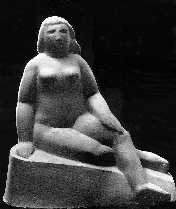 Vedres, Mark: Sitting woman