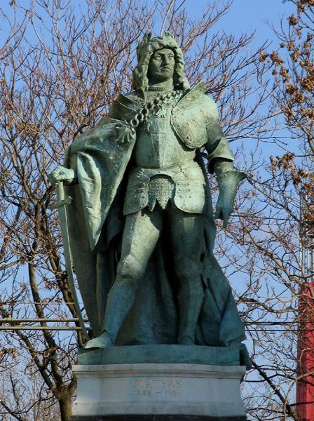 György, Zala: King Matthias