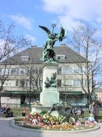 Zala György: Honvéd szobor