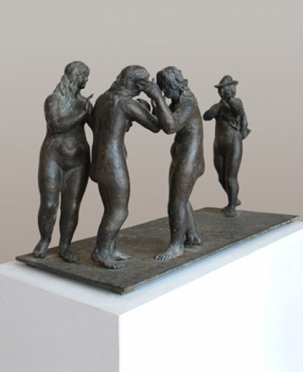 Amerigo Tot - sculptures: The Gossip