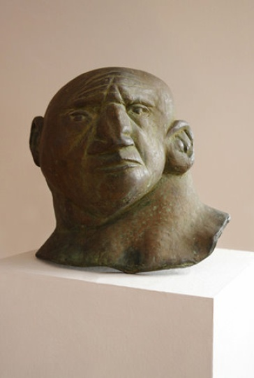 Amerigo Tot - sculptures: Retired wrestler