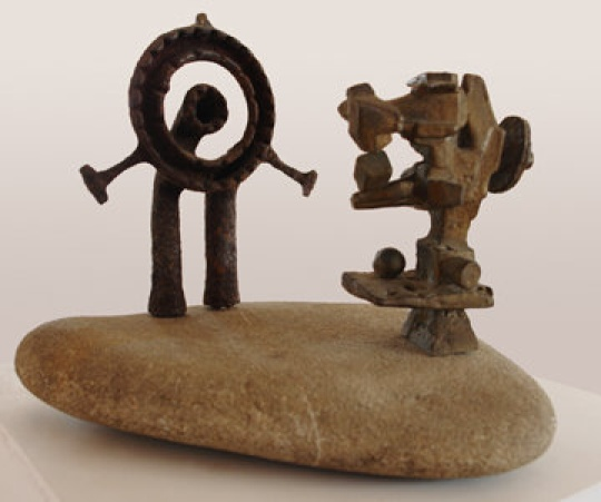 Amerigo Tot - sculptures: Found and Made