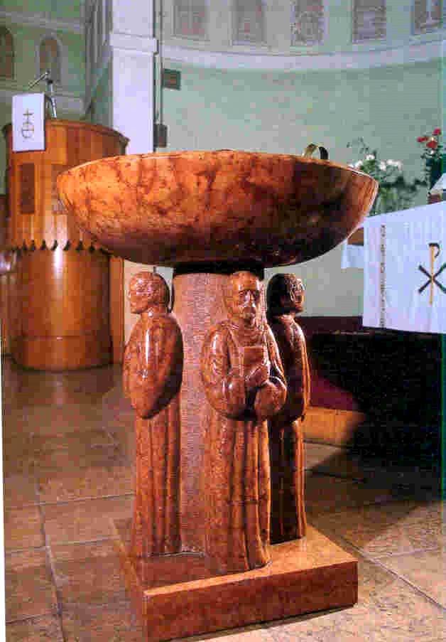 Borsos Miklós: Keresztelő kút