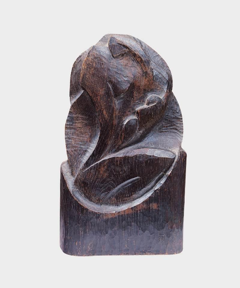 Mattis, Teutsch János: Wood sculpture