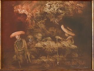Vinczellér, Imre: Among old objects