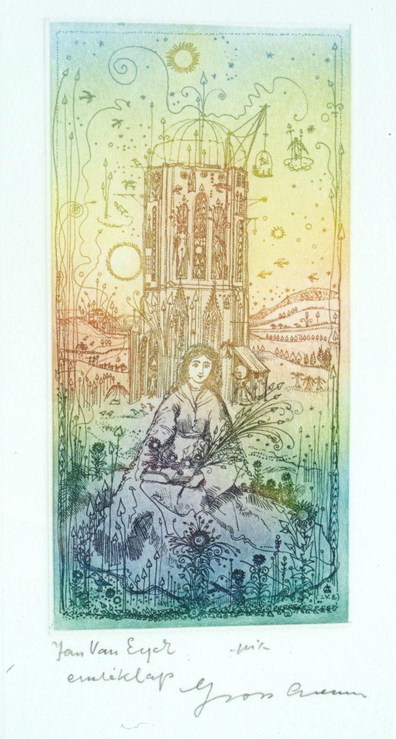 Gross, Arnold: Hommage á Jan van Eyck