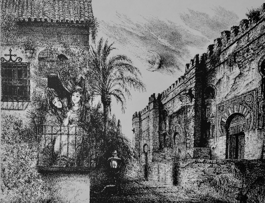 Gyulai Líviusz: A Cordobai mecset éjjel