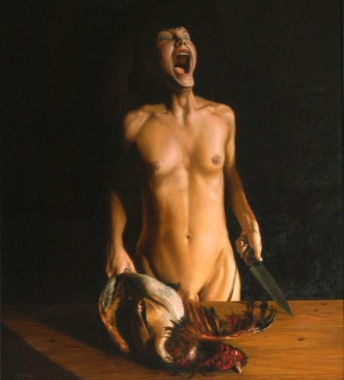 Szenteleki, Gábor: Yawning Hermafrodite