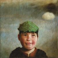 Szenteleki, Gábor: Junge mit Kohlblatt
