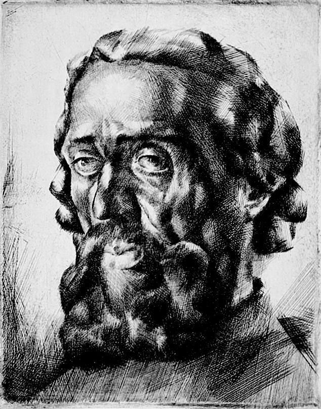Aba Novák Vilmos: Harsányi Kálmán arcképe
