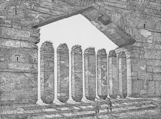 Orosz, István: Absences III. (Pantheon)