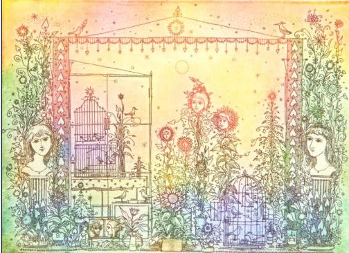 Gross Arnold: Madarak és virágok
