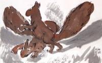 Borsos, Miklós- Skulpturen: Eichhörnchen