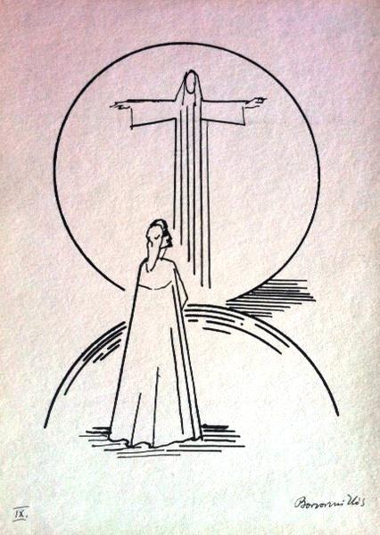 Borsos, Miklós: Dante illustrations IX