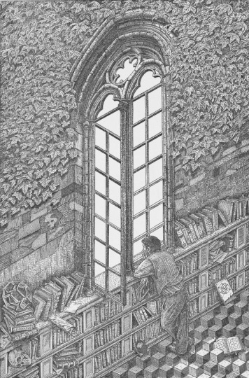 Orosz, István: Die Bibliothek