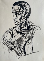 Hincz, Gyula: Portrait of a man