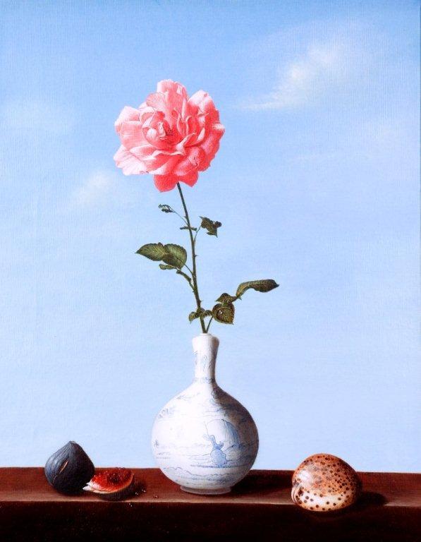 Luciano Longo: Stillleben mit Vase