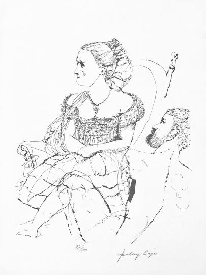 Szalay Lajos: Fotelben
